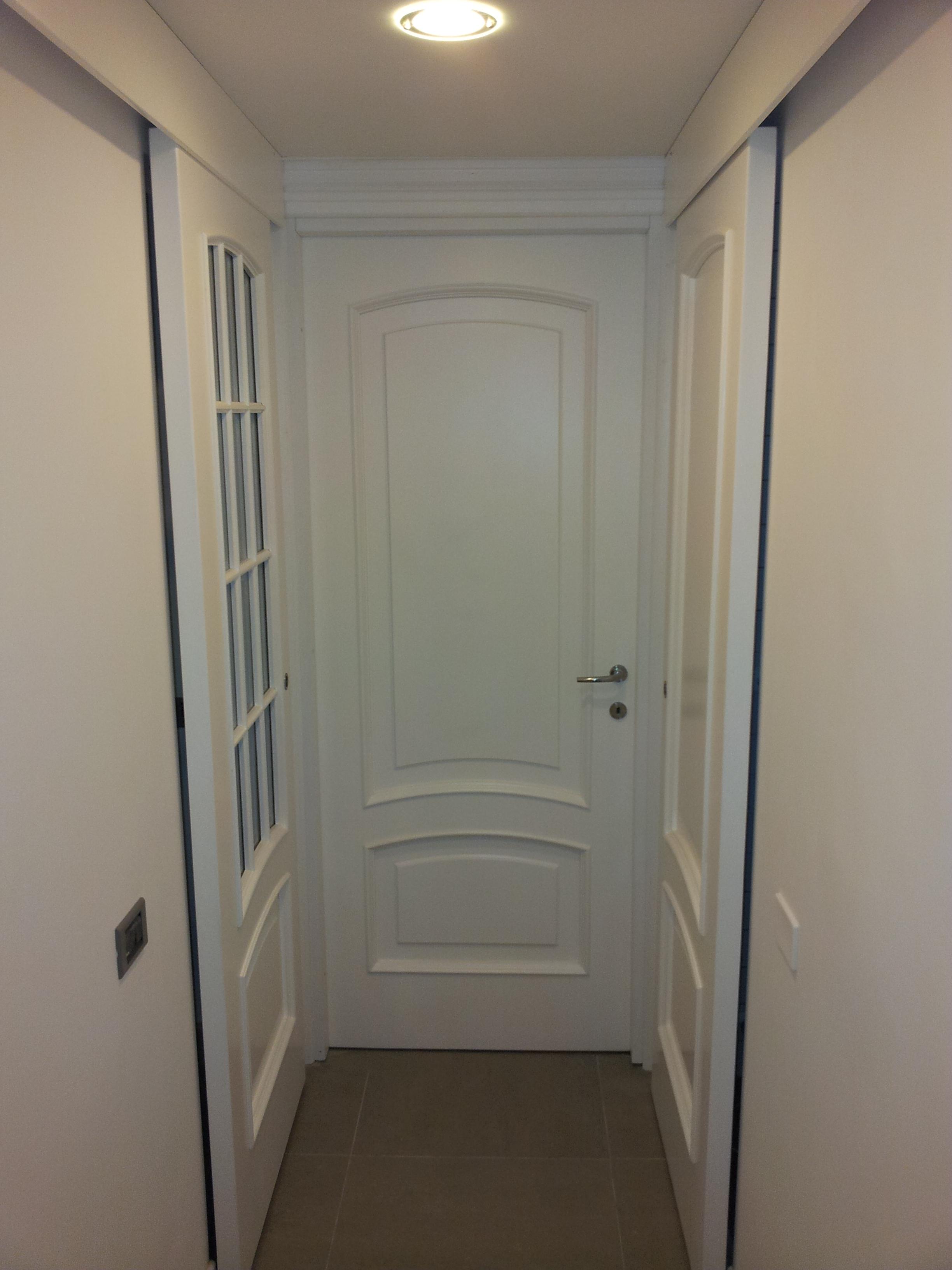Restauro porte interne in legno restauro porte in legno - Scassinare una porta ...