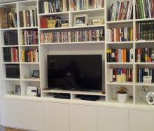 Librerie a giorno - Falegnameria Roma - Restauro Legno - Porte e ...