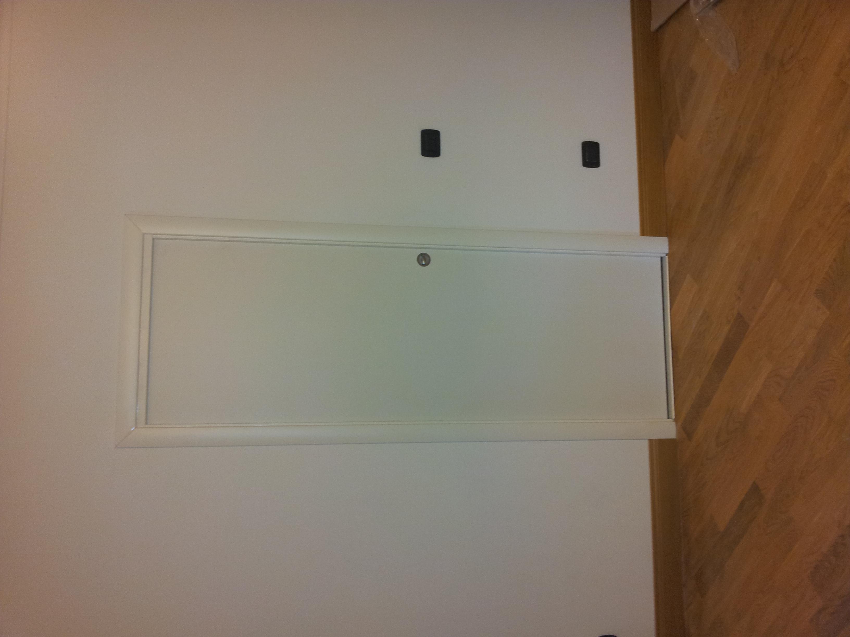 Porta in legno scorrevole laminata bianca porte per interni in legno massello falegnameria - Porta scorrevole bianca ...
