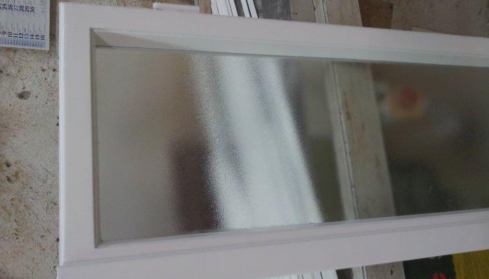 Restauro finestra con vetro termico basso emissivo stampato c per ...