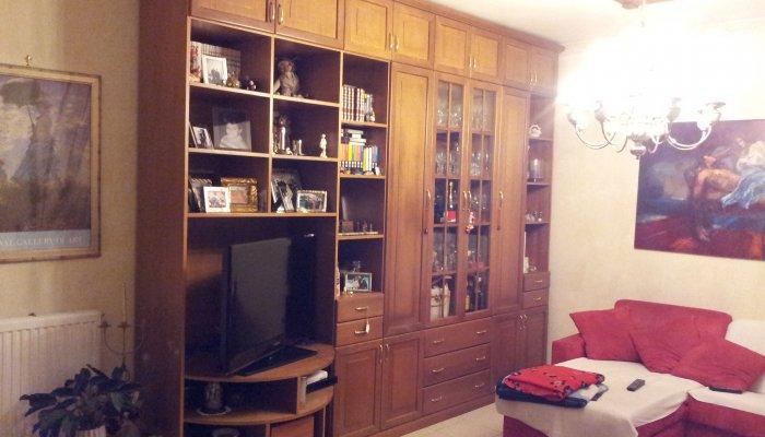 Libreria In Legno Noce.Libreria In Noce Tanganica Armadi Librerie Frontali E Vetrine In