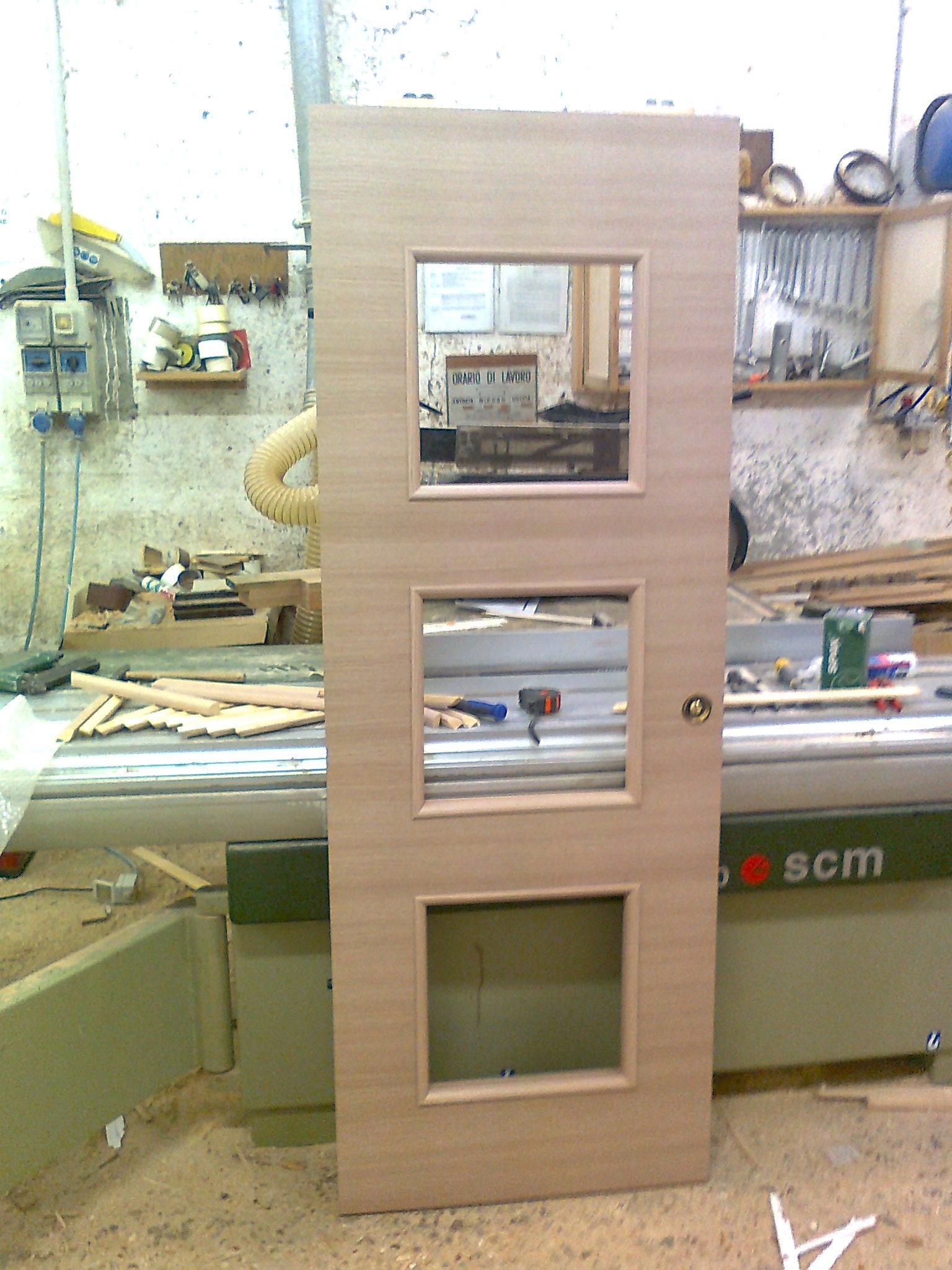 Porte in legno di rovere sbiancato laminato trasversale - Rovere sbiancato porte ...