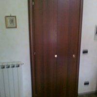 Falegnameria roma arte del legno 86 porte e finestre for Porta a libro noce