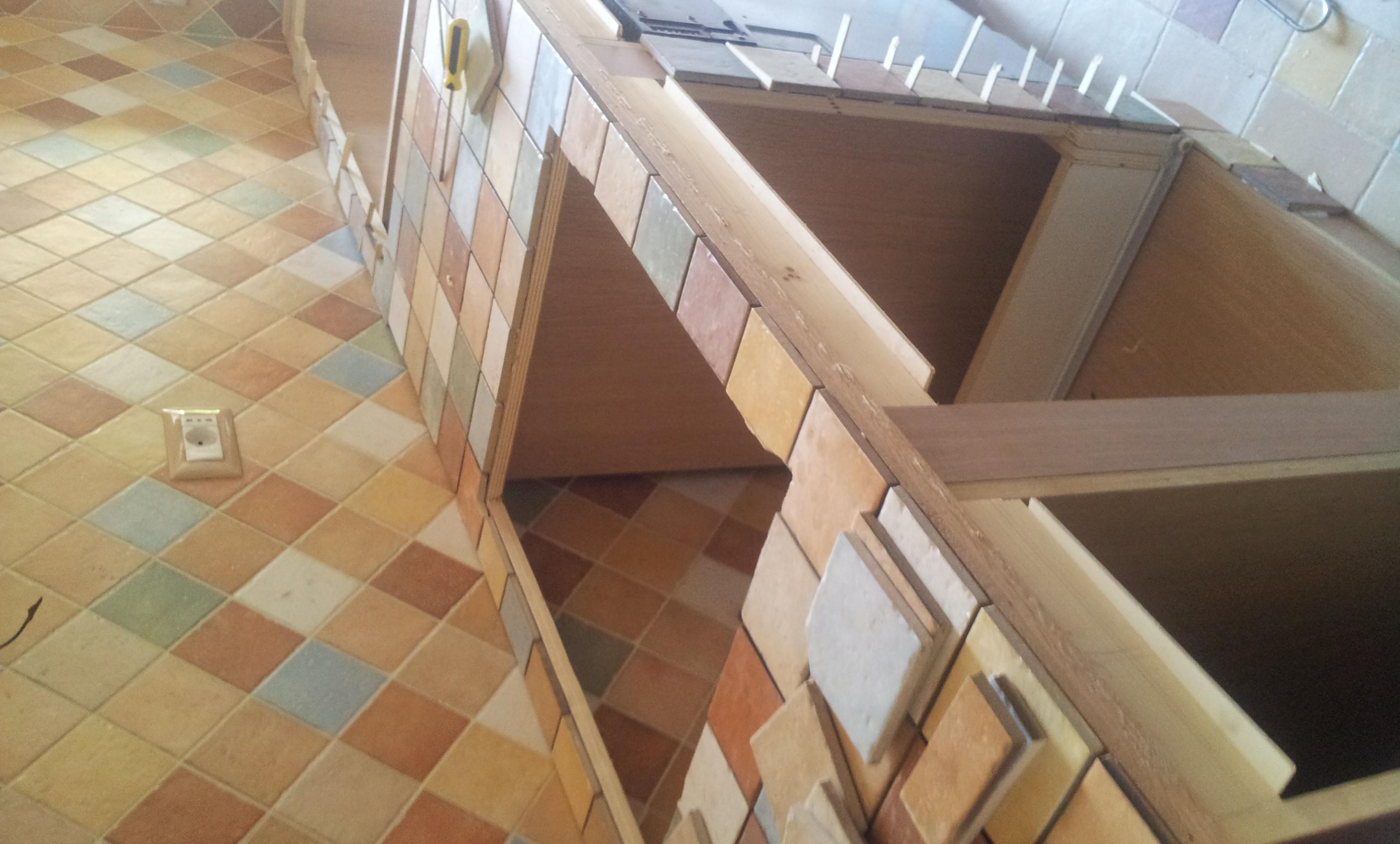 Cucina in legno in costruzione falegnameria roma - Restauro finestre in legno ...