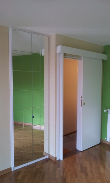 Frontale specchiato e inciso porta a mantovana armadi - Porta mantovana ...